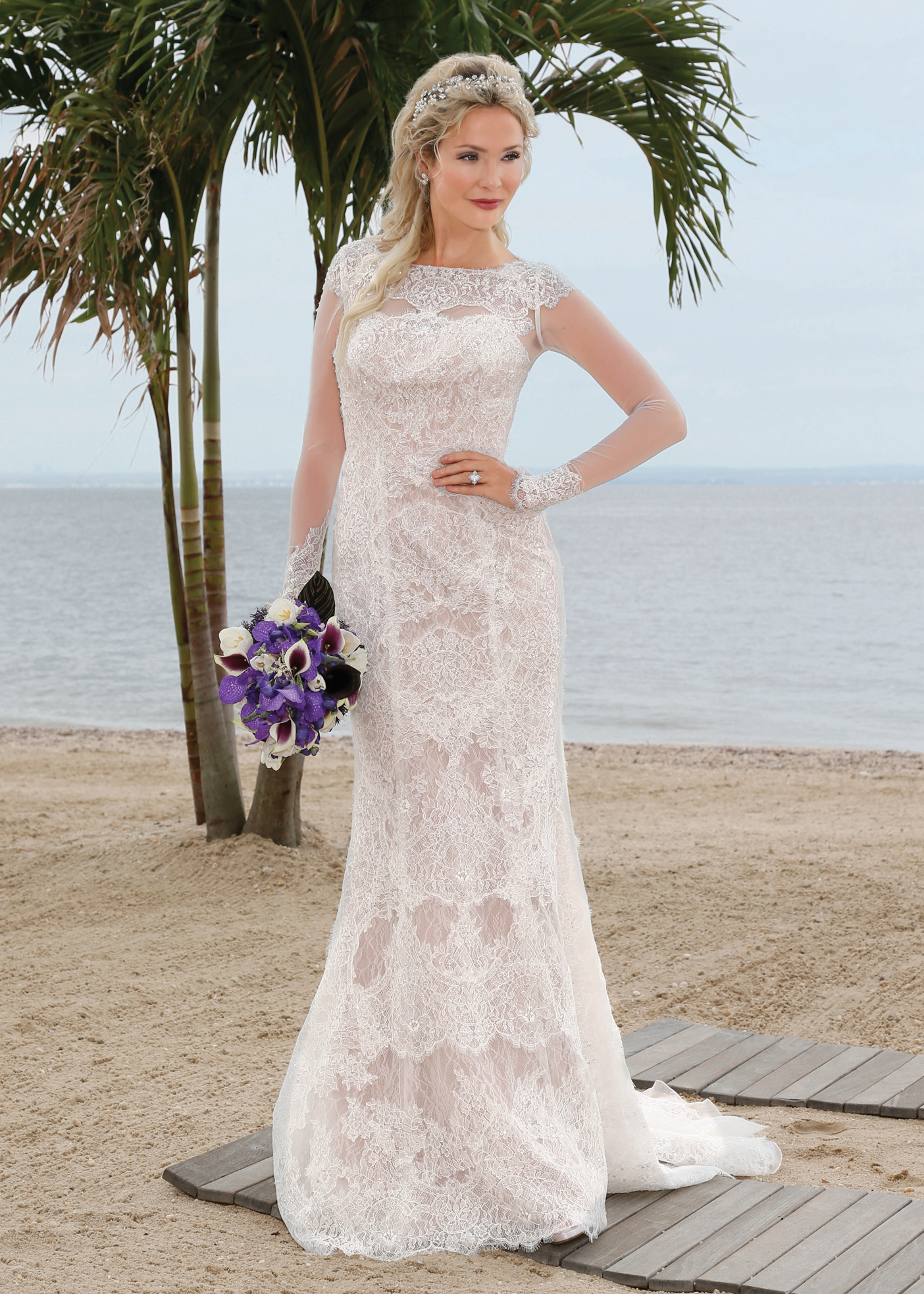Oleg Cassini Sequin Wedding Dresses