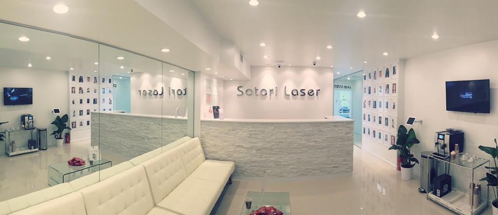 Satori Laser, 57th Street Lobby