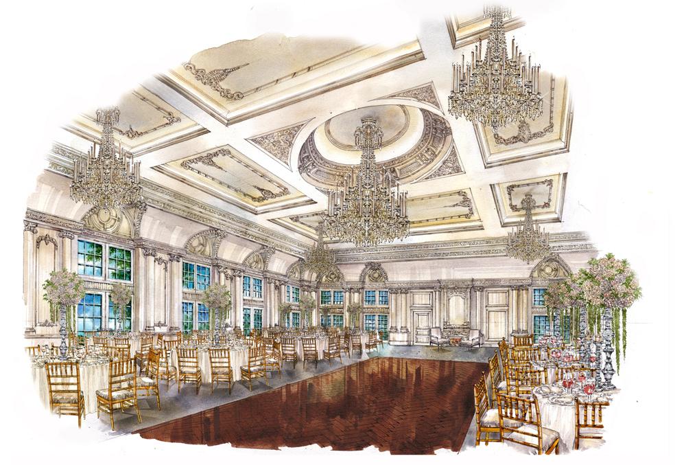 Park Chateau, Ballroom