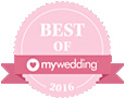 Award-Best of My Wedding 2016
