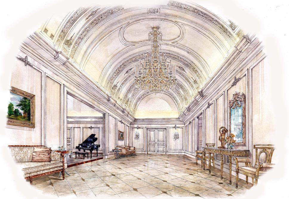 Park Chateau Estate & Gardens, Vestibule