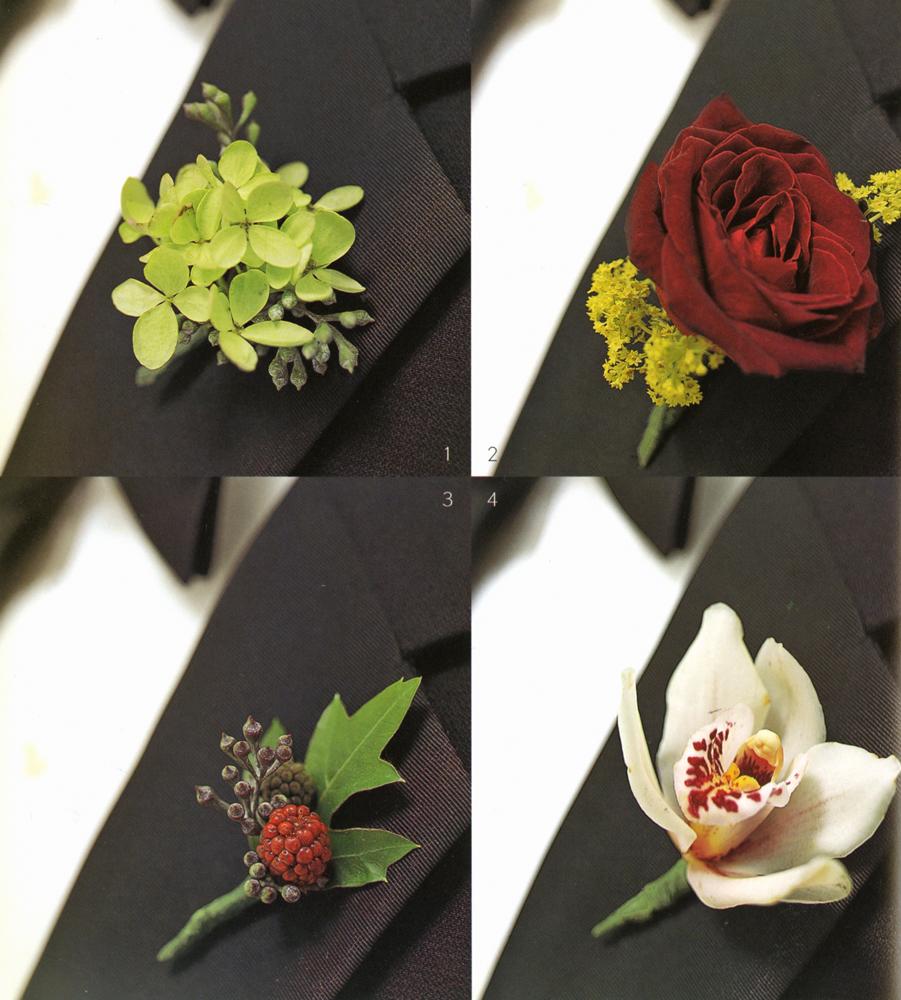PMK Floral Arts, Creative Boutonnieres