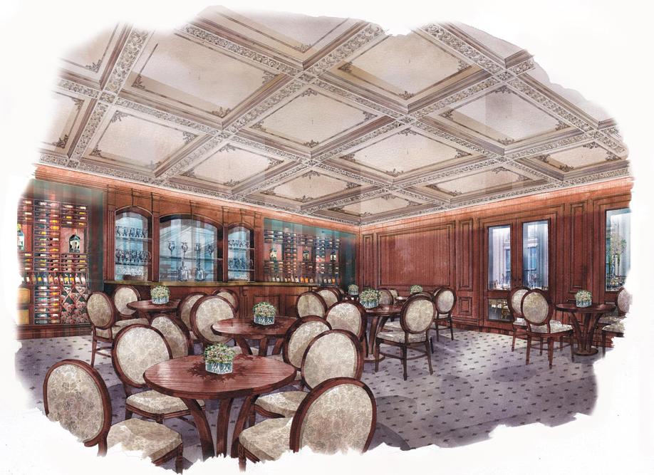 Park Chateau, Wine Room