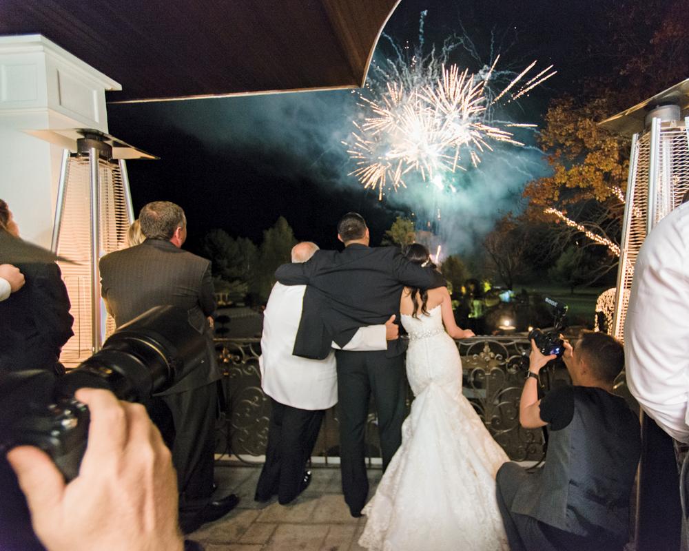 Falkirk Estate & Country Club, Fireworks Finale (Allen E. Levine Photography)