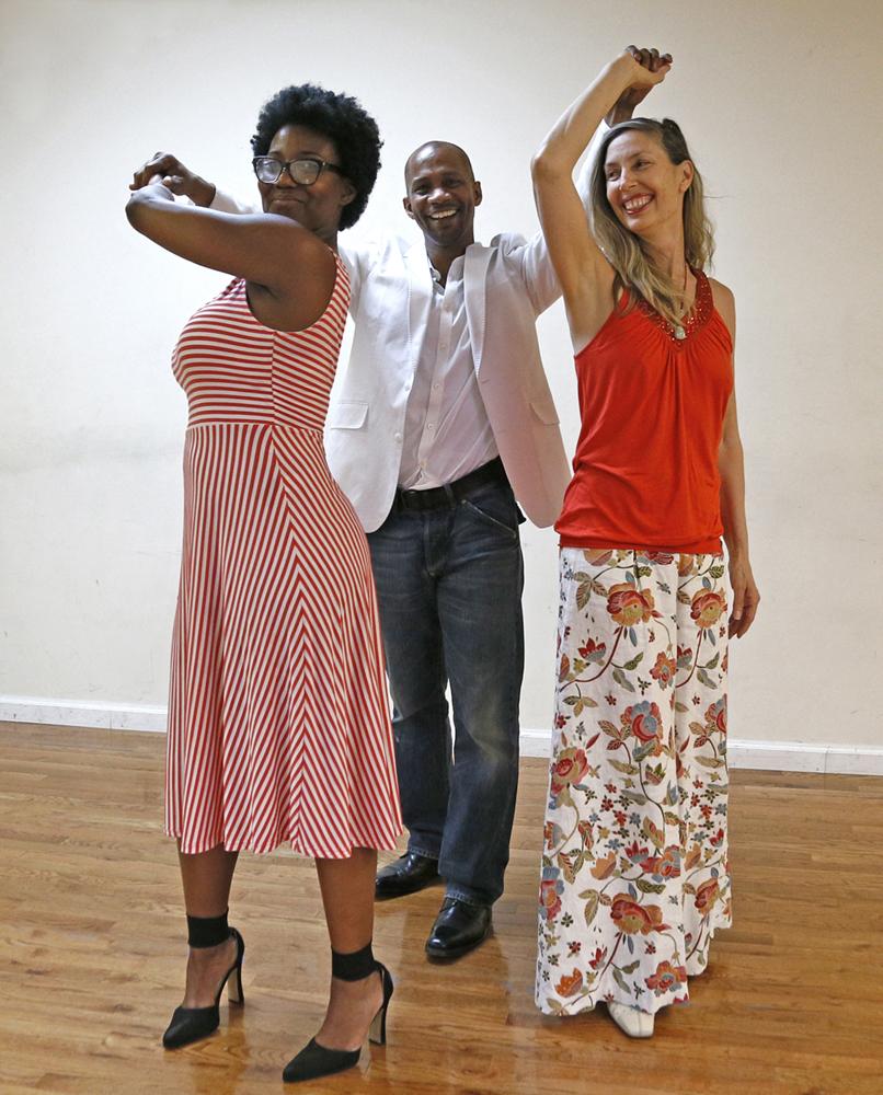 Karen McDonald-True Balance Dance; how to. twirl your partner