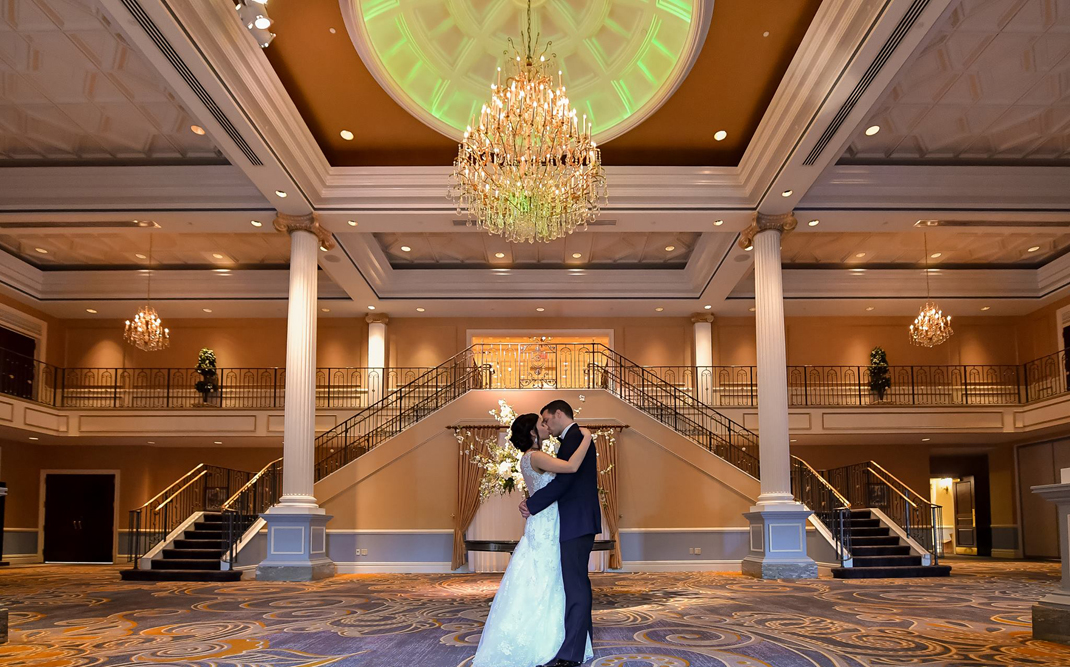 The Grand Foyer Will Transport : The palace at somerset park castle wedding venue in nj