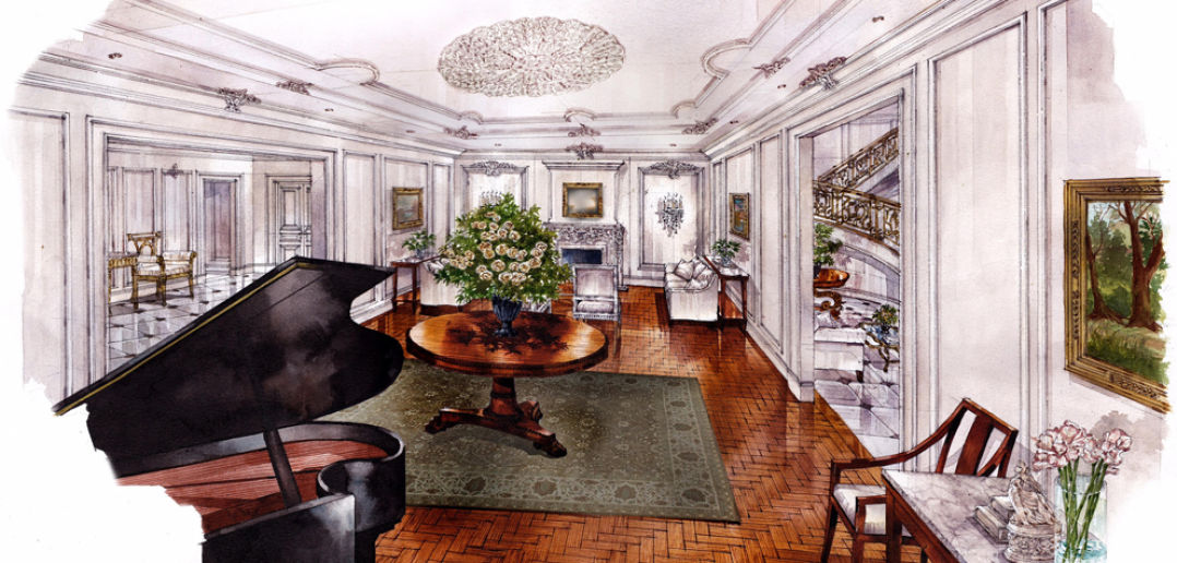 Park Chateau, Living Room