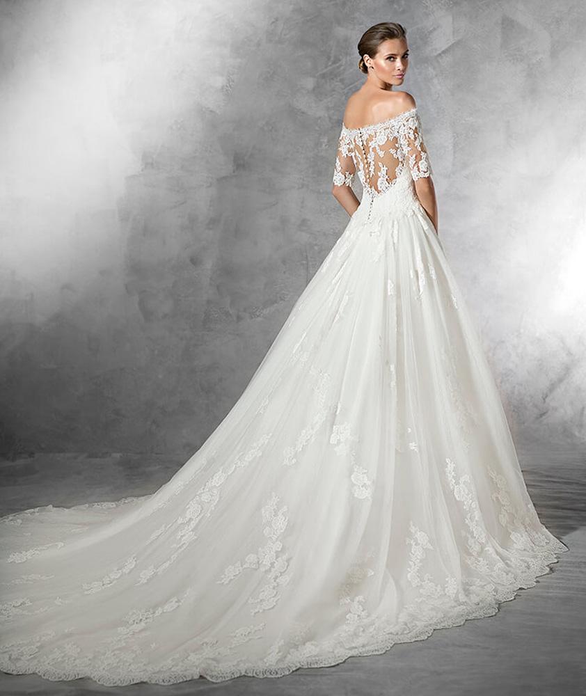 Ovias Loft Pleasant Manhattan Bride Lace Wedding Dress