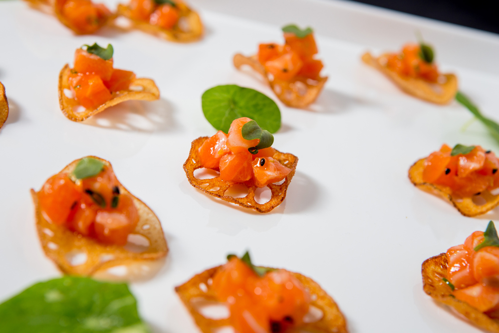 Nuhma New York, Southeast Asian— Salmon Tartar