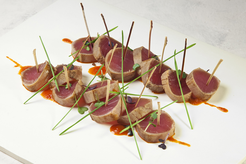 Nuhma New York, Southeast Asian— Seared Tuna Loin