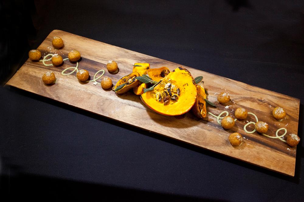 Nuhma New York, Specialty Hors D'Oeuvres—Arancinii
