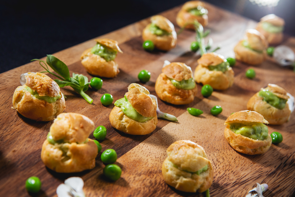 Nuhma New York, Specialty Hors D'Oeuvres—Gougeres