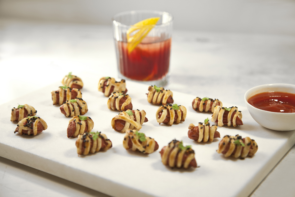 Nuhma New York, Specialty Hors D'Oeuvres—Pigs In A Blanket