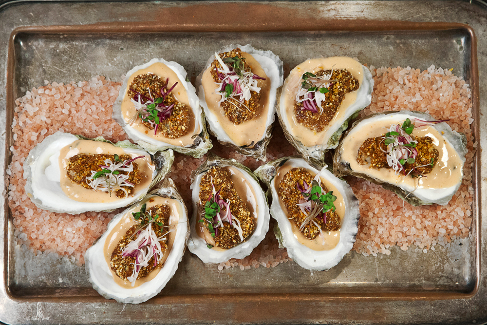 Nuhma New York, Specialty Hors D'Oeuvres—Oysters