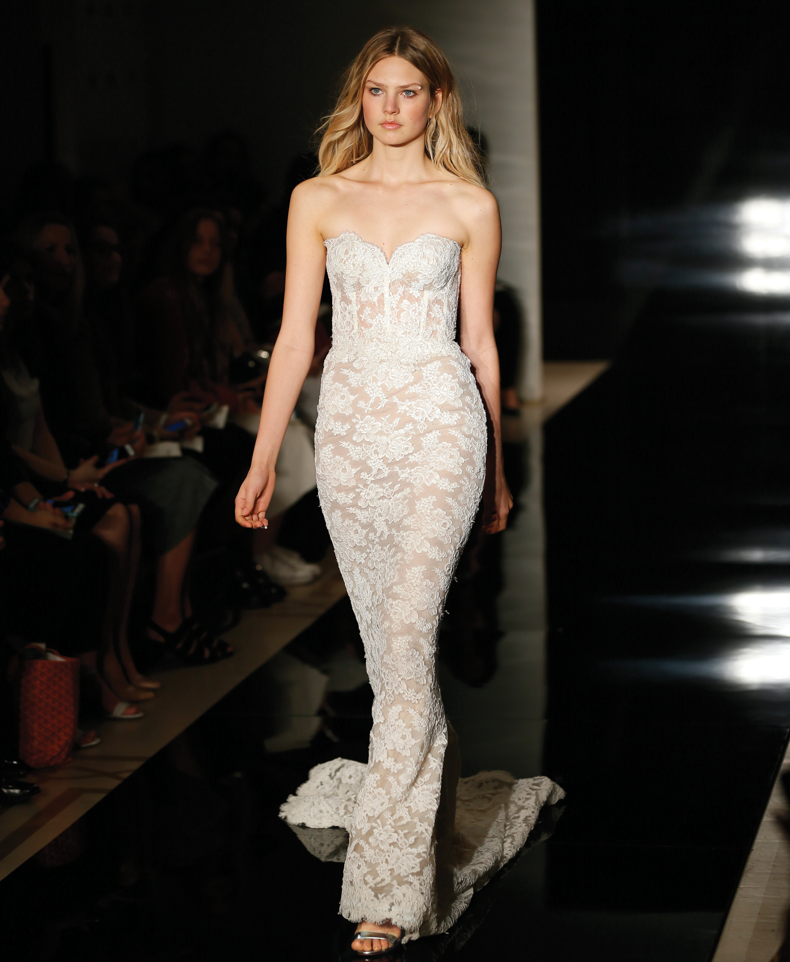 Sheath Dress Bridal Wedding Gown by Reem Acra - NY, NJ