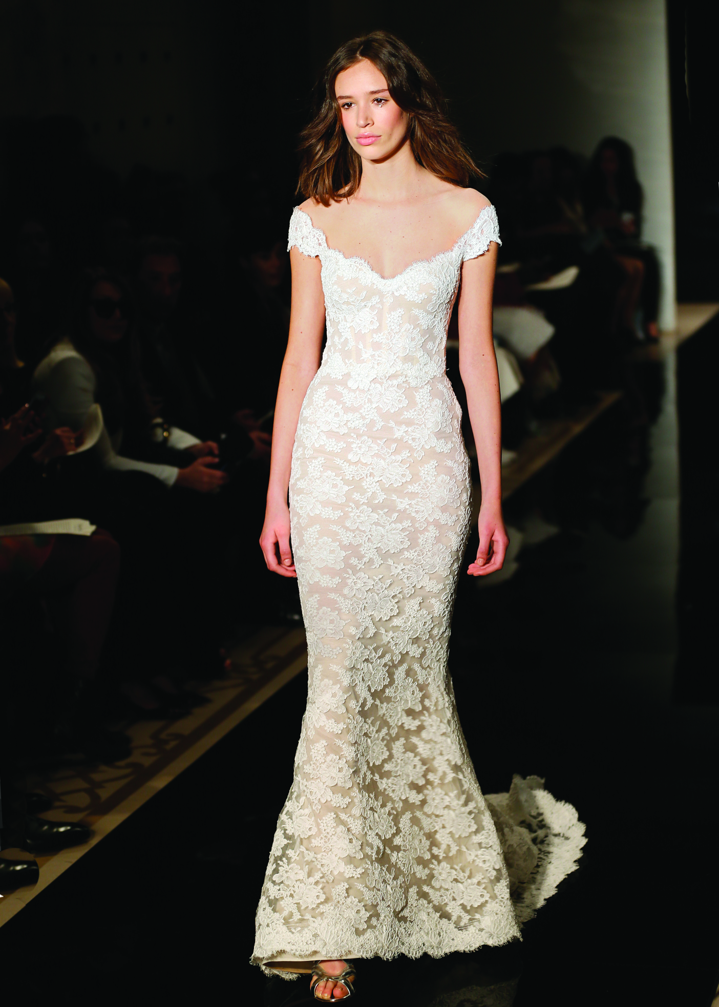 ab297403c20 Mermaid Dress Bridal Wedding Gown by Reem Acra in NY
