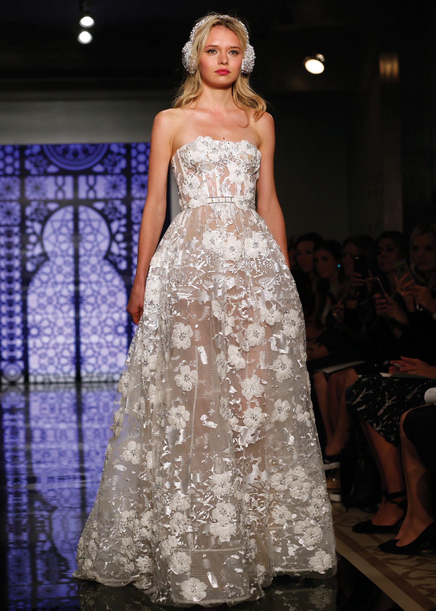 Ballgown Bridal Wedding Dress by Reem Acra in NY, NJ