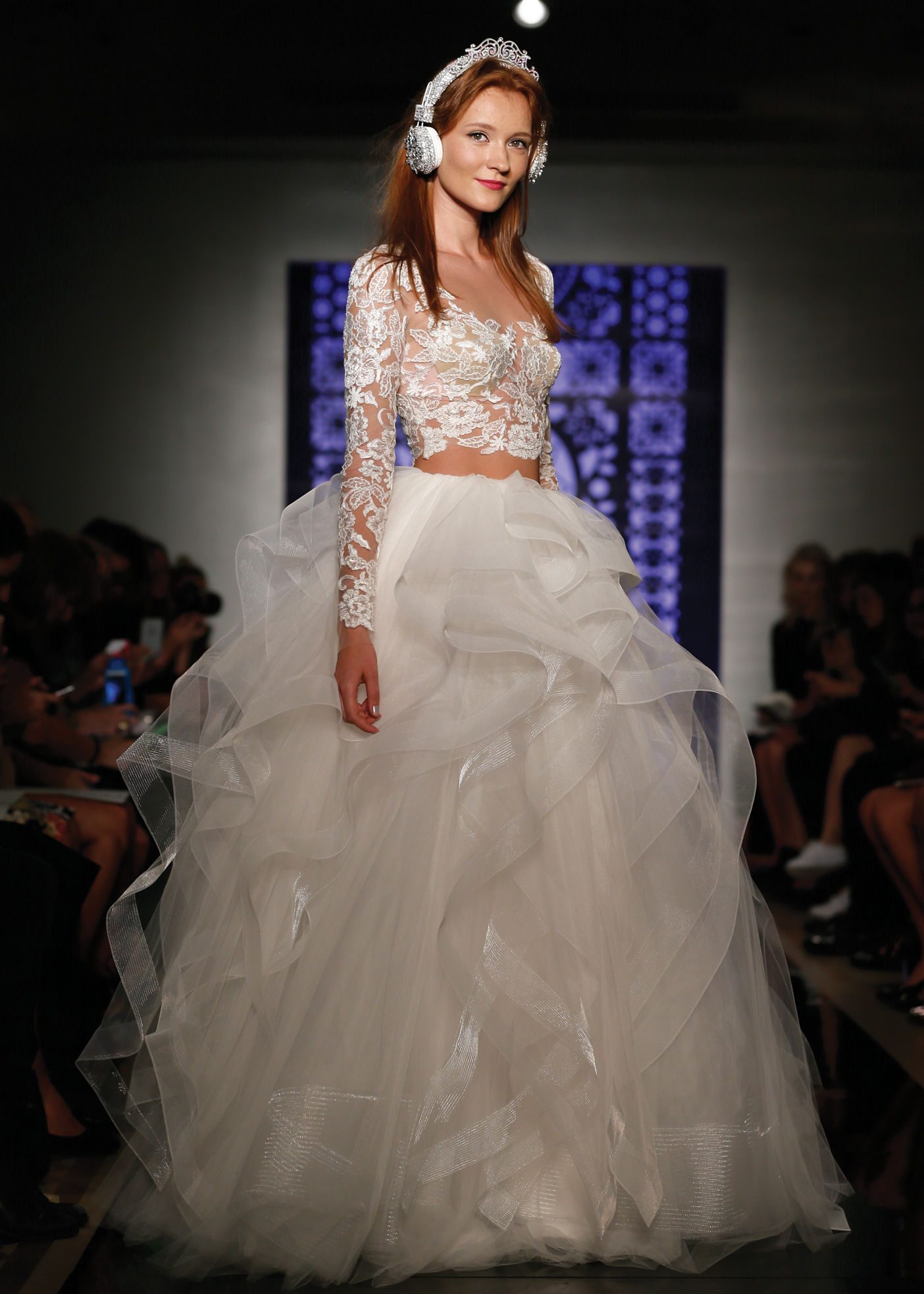 Bridal Top and Skirt Wedding Gown by Reem Acra NY, NJ