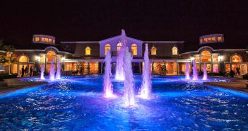 The Rockleigh, Pool Area, Night