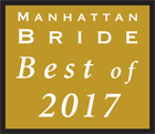Manhattan Bride Best of 2017 Award