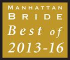 Manhattan Bride Best of 2013-2016