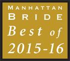 Manhattan Bride Best of 2015-2016