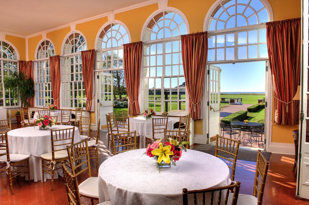 Bourne Mansion, Garden Room