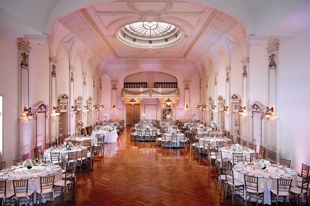Bourne Mansion NY Garden Wedding Venue On The Water