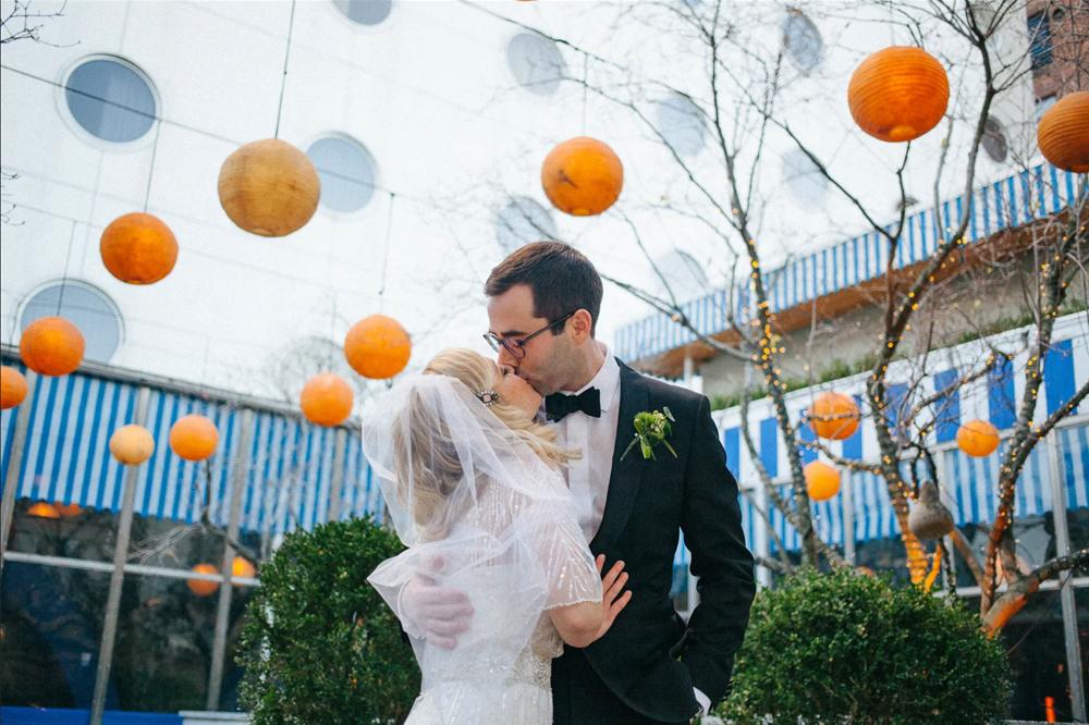 Busy Bride (Photo: Kevin Shea Adams)