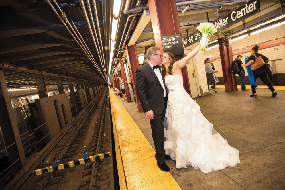 Busy Bride Planning, Bride & Groom Around the Town