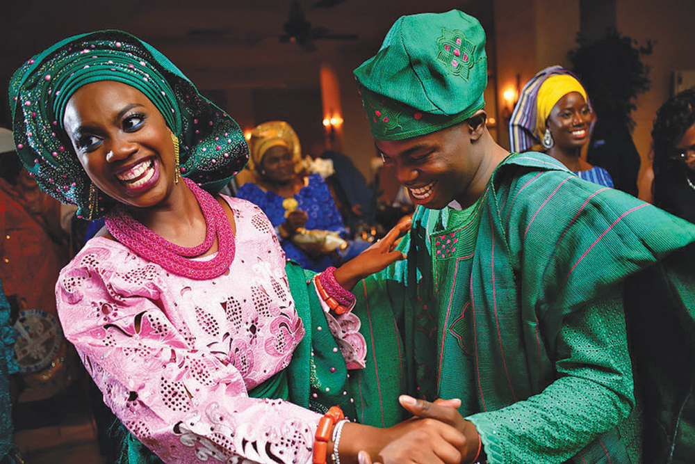 Yoruba outfits; Ruke's mom's culture (Photo: Alakija Studios)