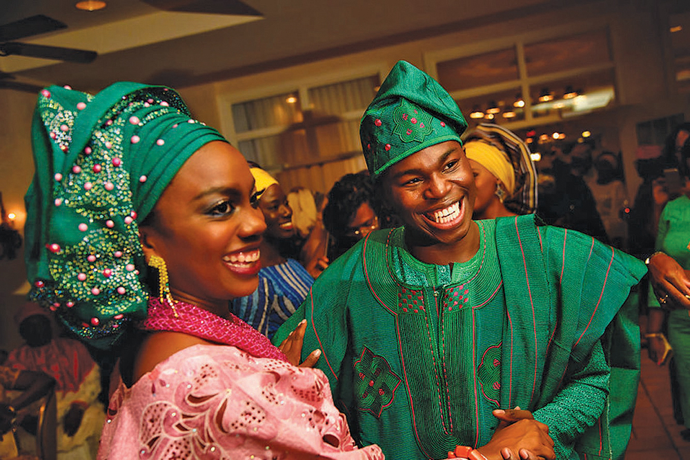 The Bride & Groom (Photo: Alakija Studios)