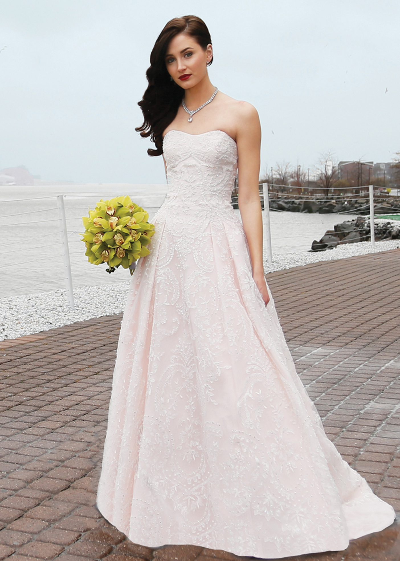 88ea47e322f54 Ballgown Bridal Wedding Dress by Oleg Cassini NY