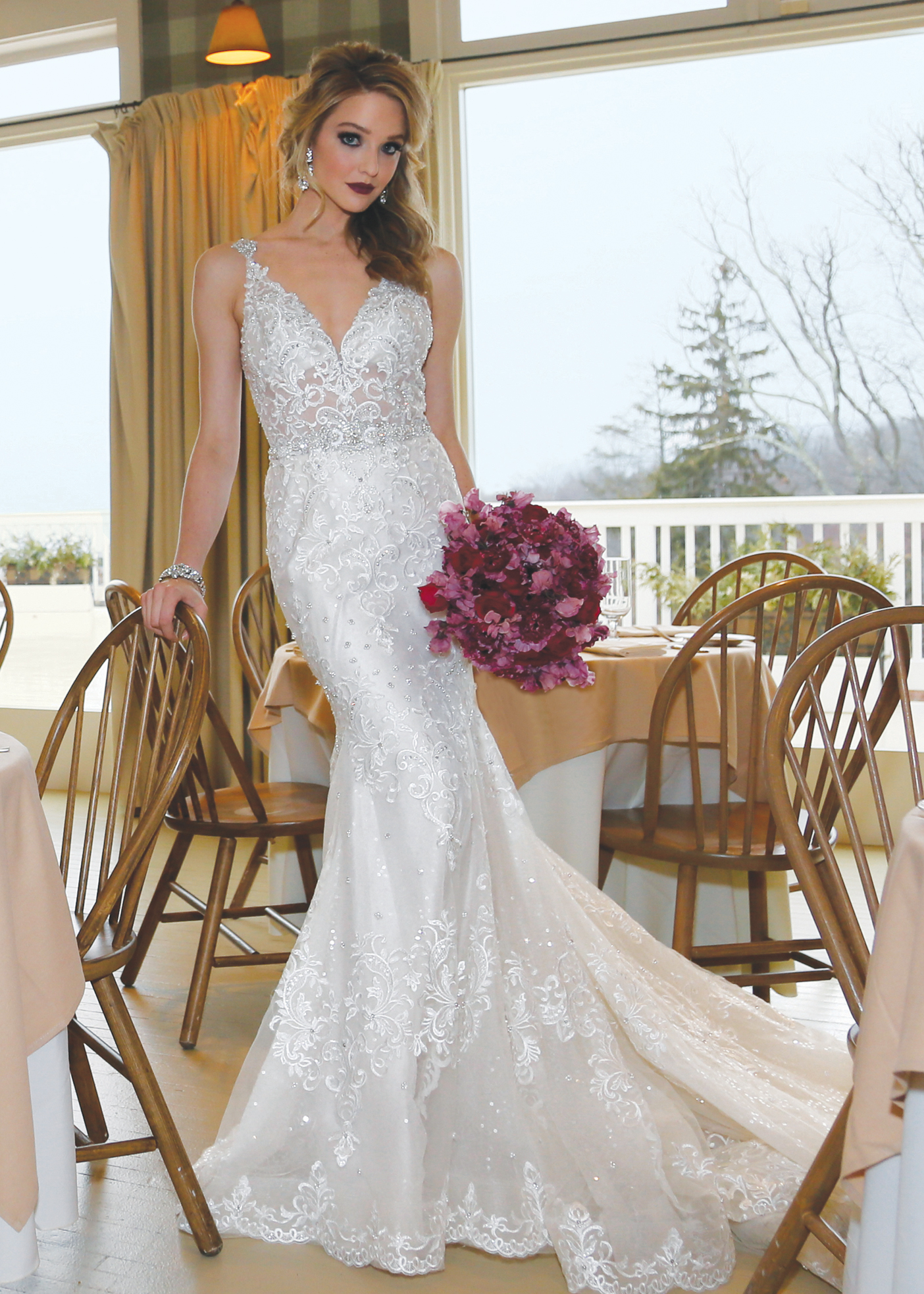Bridal Wedding Gowns New York, New Jersey - Mermaid Dress