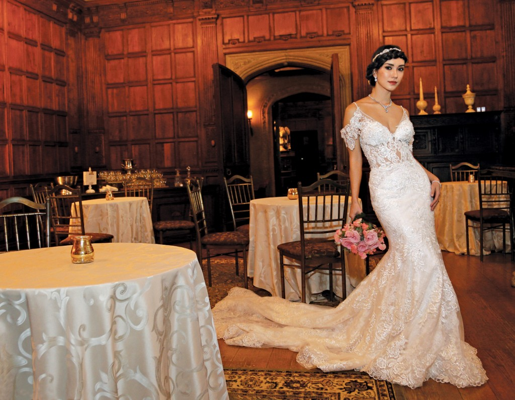 Gown: Eve of Milady (1586), Sandra's & Donath's Florist
