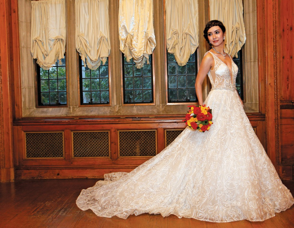 Gown: Eve of Milady (351), Sandra's & Donath's Florist