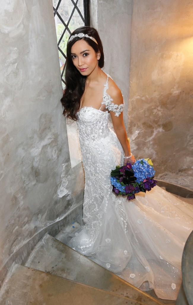 Gown: Eve of Milady (4356), PMK Floral Arts