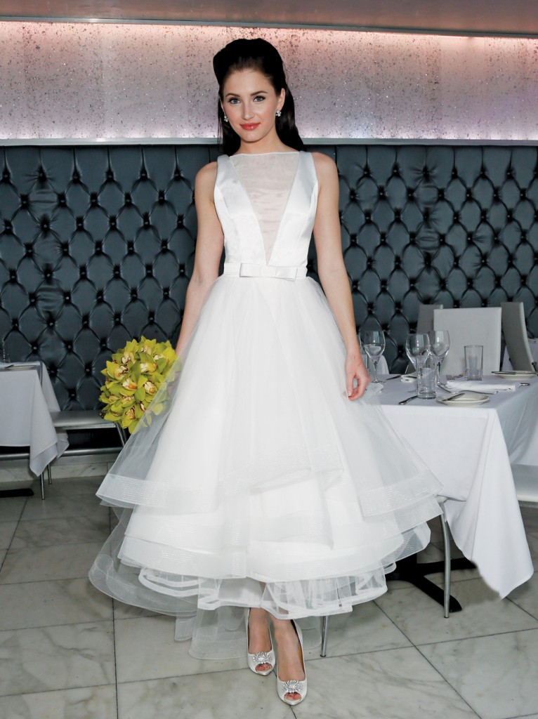 Gown: Atelier Emelie (Arielle, $2500), Ariston Flowers