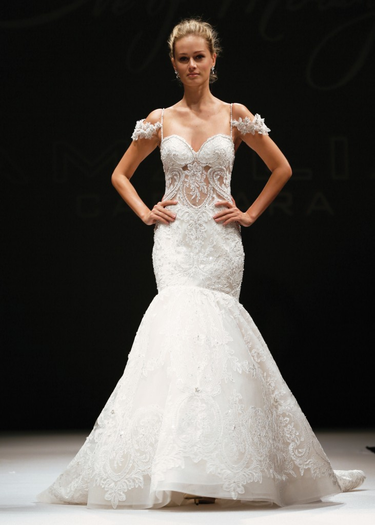 Trumpet Bridal Wedding Gown By Eve Of Milady In Ny Nj