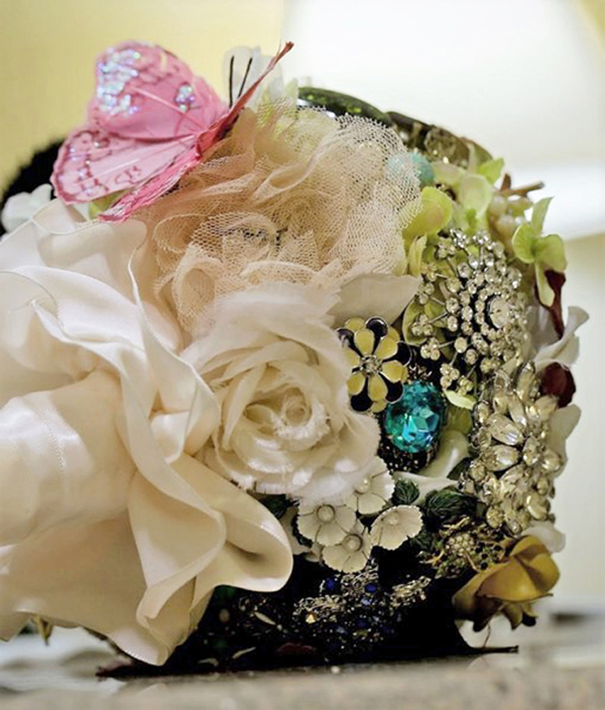 Forever Brooch Bouquets