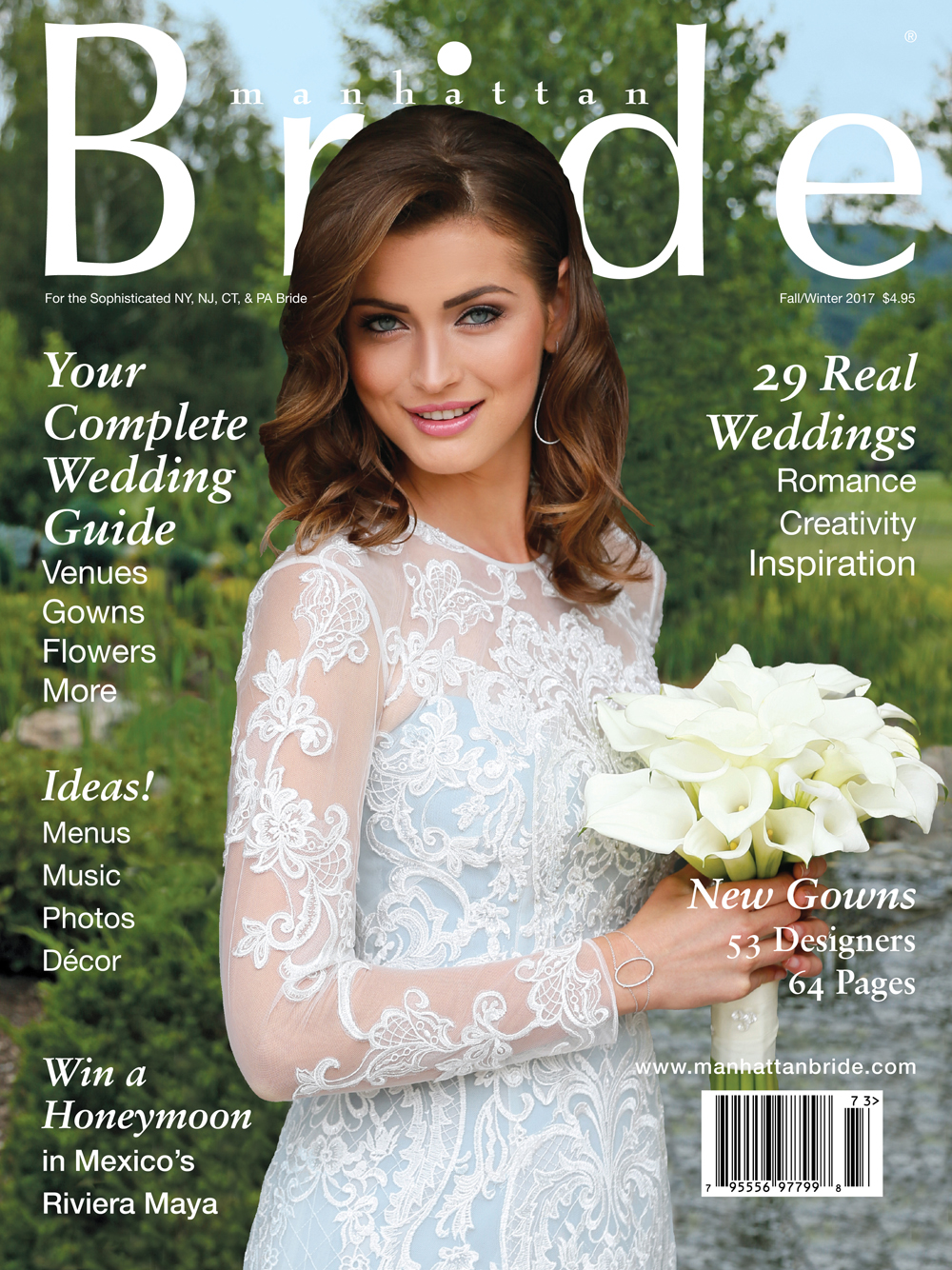 Manhattan Bride Fall/Winter 2017 cover