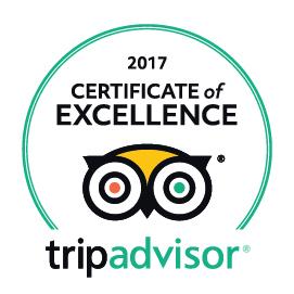 Trip Advisor 2017 Award
