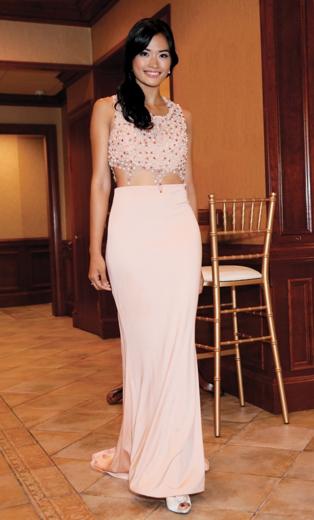 Gown: Jenny Couture