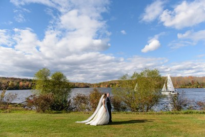 The Lake House On The Water Garden Wedding Site in PA