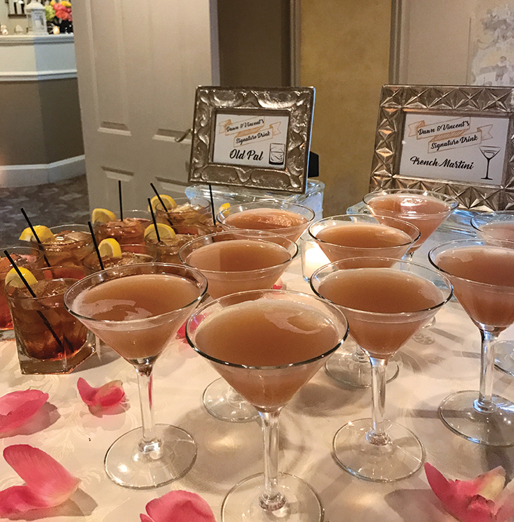 Olde Mill Inn, His & Her Signature Drinks (Photo: Marien Barker)