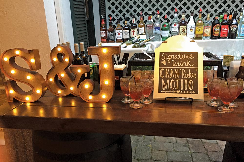 Olde Mill Inn, Signature Cocktails (Photo: Amanda Virga)