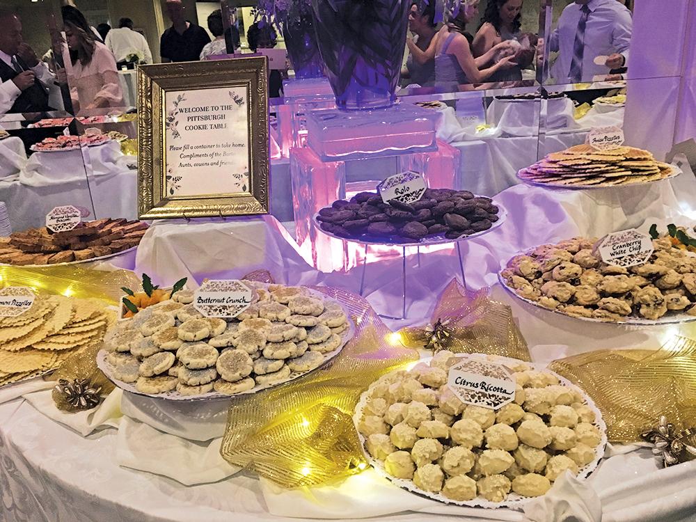 Olde Mill Inn, Pittsburgh Cookie Table (Photo: Marien Barker)