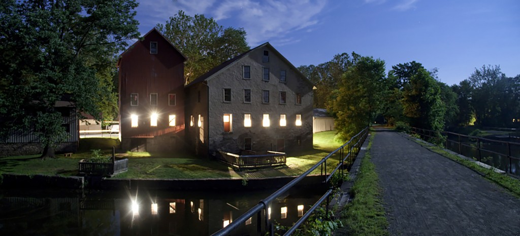 Prallsville Mills, Night Panorama