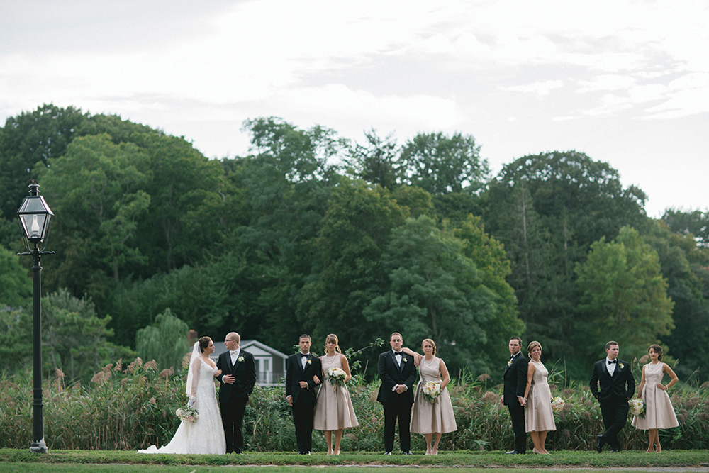 Victoria & Nicholas' Wedding at The Estate at Three Village Inn (William Thomas Photography)
