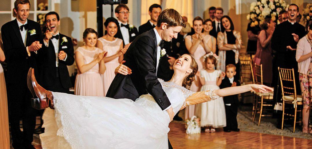 Courtney & Zach's First Dance (Photo: Edward Dye)